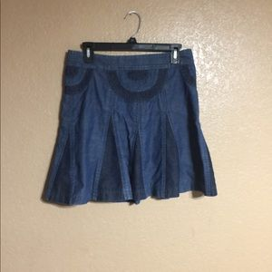 Marc Jacobs two tone denim skirt